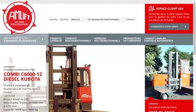 Site internet de Amlift