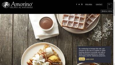 Site internet de Amorino Vieux-Lyon