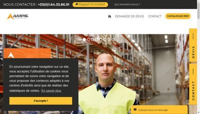 Site internet de AMPIE France