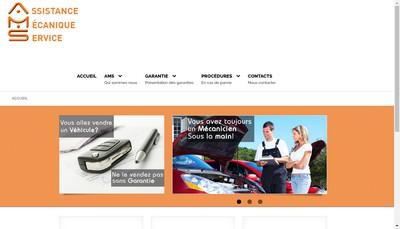 Site internet de Ams - Assistance Mecanique Service