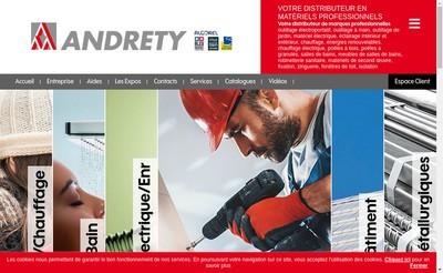 Site internet de Andrety