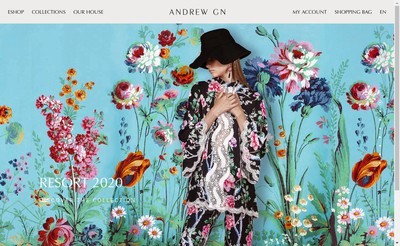 Site internet de SARL Andrew Gn