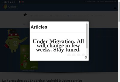Site internet de Android2Ee