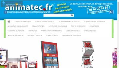 Site internet de Animatec