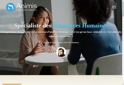 Site internet de Animis