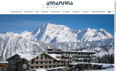 Site internet de Hotel Annapurna