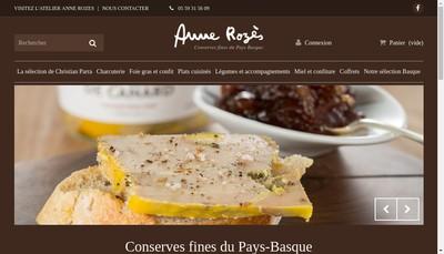 Site internet de SARL Anne Rozes