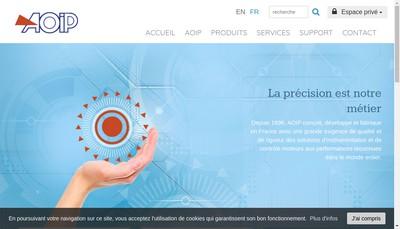 Site internet de Aoip SAS