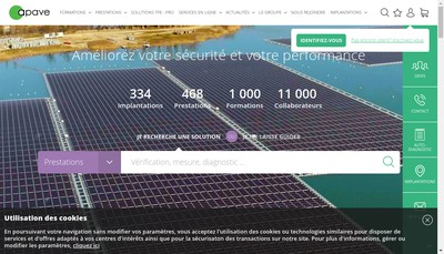 Site internet de Cete Apave Alsacienne