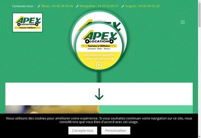 Site internet de Apex 2