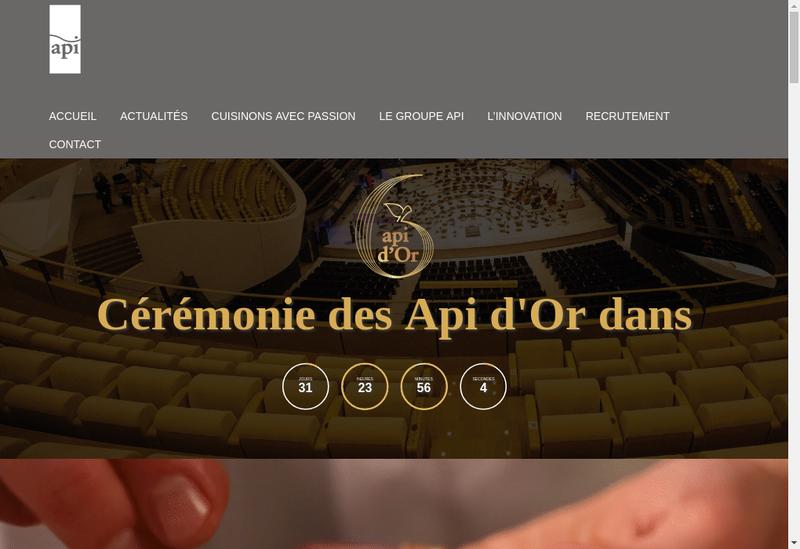 Capture d'écran du site de Le Valois Restaurant
