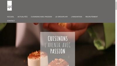 Site internet de Lys Restauration