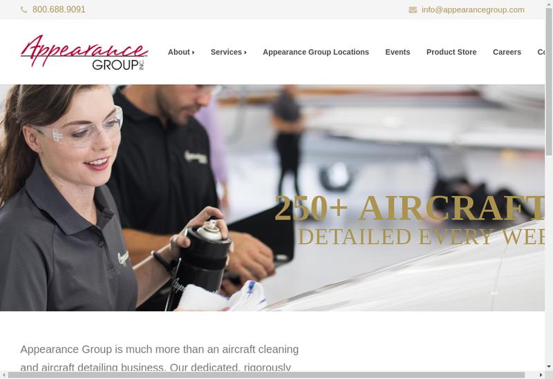 Capture d'écran du site de The Allen Groupe SARL