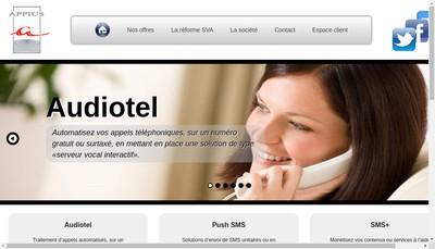 Site internet de Appius SARL