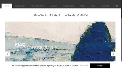 Site internet de Applicat