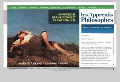 Site internet de Les Apprentis Philosophes