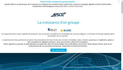 Site internet de Apside