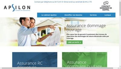 Site internet de Apsilon