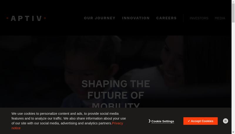 Capture d'écran du site de Delphi Connection Systems France