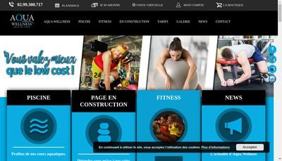 Site internet de Aqua Wellness