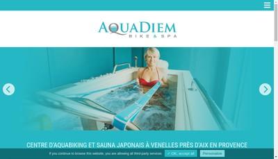 Site internet de Aquadiem