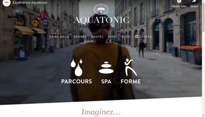 Site internet de Aqua Val