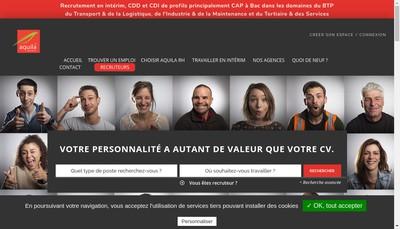 Site internet de Mistertemp Group