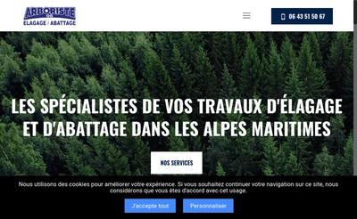 Site internet de Arboriste 06