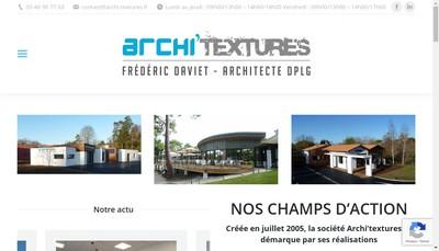 Site internet de Archi'Textures
