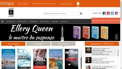 Site internet de Editions Archipoche