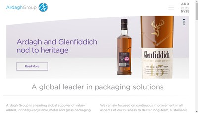 Site internet de Ardagh Metal Packaging France SAS