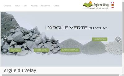Site internet de Argile du Velay