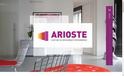 Site internet de Arioste