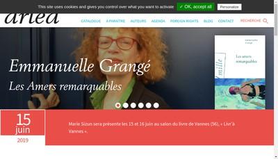 Site internet de Arlea