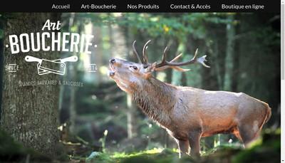 Site internet de Art Boucherie