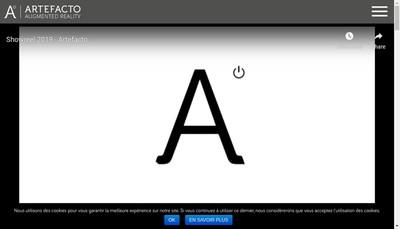 Site internet de Artefacto