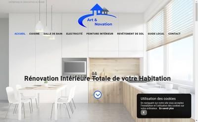 Site internet de Art et Novation