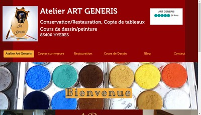 Site internet de Art Generis