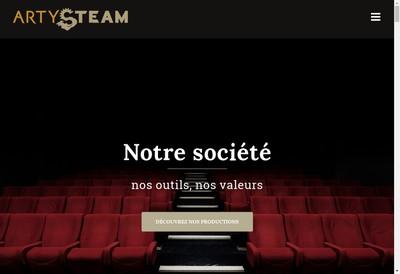 Site internet de Arty Steam