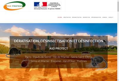 Site internet de Asd Protect