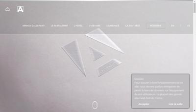 Capture d'écran du site de Champenoise