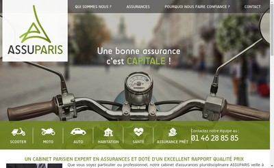 Site internet de Assuparis