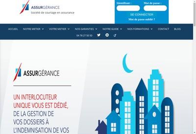 Site internet de Assurgerance