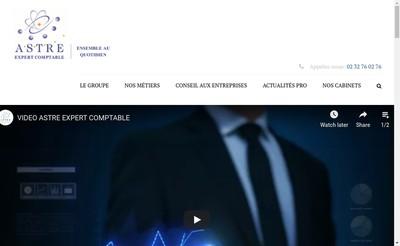 Site internet de Astre Patrimoine
