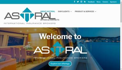 Site internet de Asttral