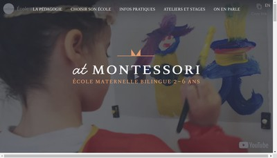 Site internet de At Montessori