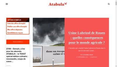 Site internet de Atabula