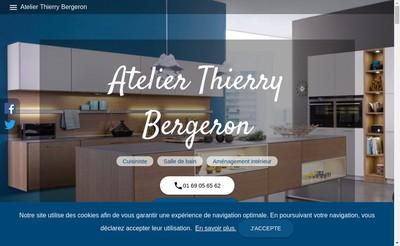 Site internet de Atelier Thierry Bergeron