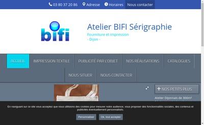 Site internet de SARL Bifi