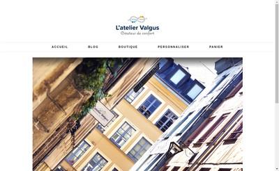Site internet de Atelier Valgus